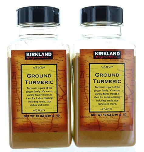 2 pack, Ground Turmeric Root Powder 12oz/340g each, by Kirkland Signature