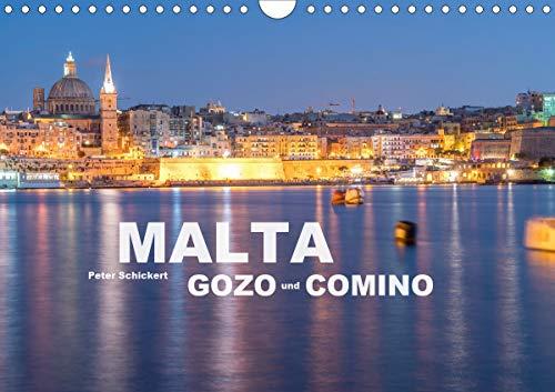 Malta - Gozo und Comino (Wandkalender 2021 DIN A4 quer)