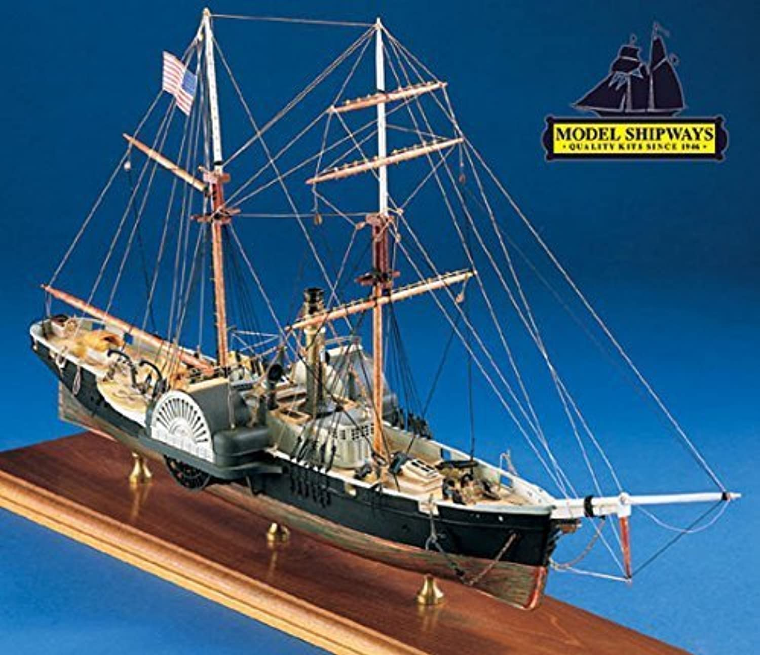 Model Shipways Civil War Harriet Lane Gunboat 3 32 Blockade Runner Wood Kit on Sale 42% Off - Model Expo by Model Expo