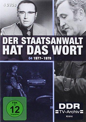 Der Staatsanwalt hat das Wort - Box 4: 1977-1978 ( DDR TV-Archiv - 4 DVDs )