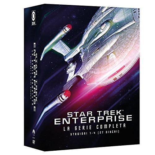 Star Trek Enterprise - Collezione Completa Stagioni 1-4 (Box Set) (27 DVD)