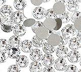 Jollin pegamento Fix Vidrio Diamantes de Cristal de Espalda Plano Gemas de Cristal, Cristal, SS20 1440pcs