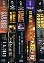 Stuart Woods Collection of 15 Stone Barrington Novels: L. A. Dead; Two Dollar Bill; Shoot Him If He Runs; Kisser; The Shor...