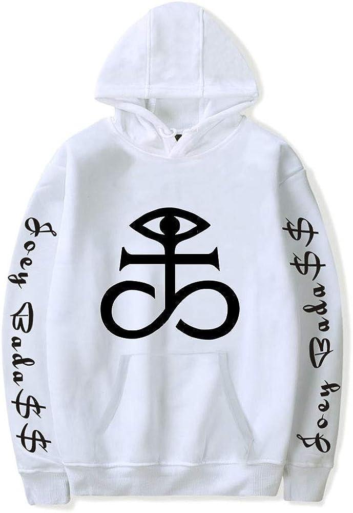 Joey Badass Hoodie Unisex Tracksuit Women Men's Outwear Harajuku Streetwear Hip Hop Rapper Fashion Clothes (KB01894-white,XS)