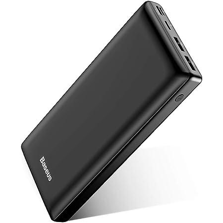 Baseus Bateria Externa para Movil 30000mAh,PowerBank,Power Bank Bateria Portatil Movil USB C Carga rapida para iPhone 11/12 Pro MAX, iPad, Mac, Samsung, Huawei, Xiaomi, Nintendo Switch Nergo
