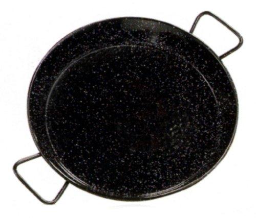 15cm Durchmesser aus emailliertem Stahl Cricket Tapas-Flach Paellapfanne