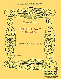 SONATA NO. 2 IN G K. 3791 FLUTE/PIANO GRADE 1 CONNOISSEUR FLUTIST EDITION