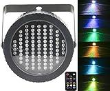 Etapa Luces Par 86 LED, Latta Alvor Luces estroboscópicas del partido de la luz estroboscópica de DMX512 RGB para discoteca Luces del con sonido activada y teledirigida