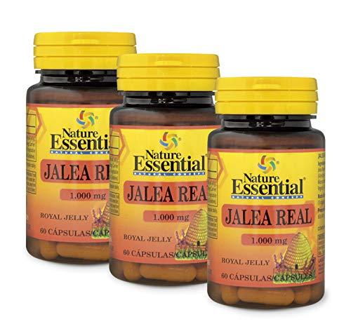 Pappa reale 1000 mg. 60 capsule. (Pack 3 pezzi)