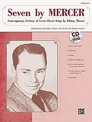 Johnny mercer seven by mercer (arr mark hayes) medium low voice bk/cd piano+cd