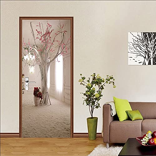 Mappa Moto Car Door Sticker Wallpaper per soggiorno Paesaggio Naturale Animali Planet Stickers Home Decor A24 77x200cm