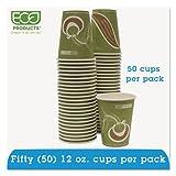 Eco-Products - Evolution World 24% PCF Hot Drink Cups, Sea Green, 12oz, 50/Pack EPBRHC12EWPK (DMi PK