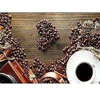 フルラウンドドリルダイヤモンド絵画コーヒーカップ手作りクリスタルラインストーン刺繡写真アートクラフト家の壁の装飾ギフト