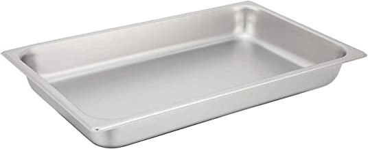 Winco - SPF2 (2-1/2-Inch Pan), Full, (Silver) (2-Pack)