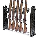 BLLJQ Titular De Rifle con Capacidad para 7 Rifle, Pistola Soporte De Exhibición, para Airsoft Almacenamiento Y Exhibición De Armas