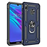 Huawei Y6 2019 Case With Magnetic Ring Holder - Hybrid