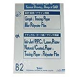 SAKAEテクニカルペーパー グラフ用紙 B2 1mm 方眼 上質紙 50枚 B2-11