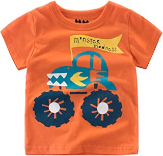Fairy Baby Toddler Boys Summer Short Sleeve T-Shirt Graphic Tops Tee Cartoon Shirt