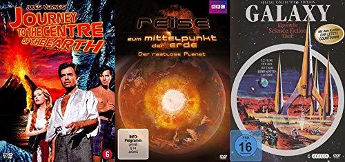 15 Filme - Reise zum Mittelpunkt der Erde & ins All – Fantasy & Science Fiction Klassiker DVD Collection