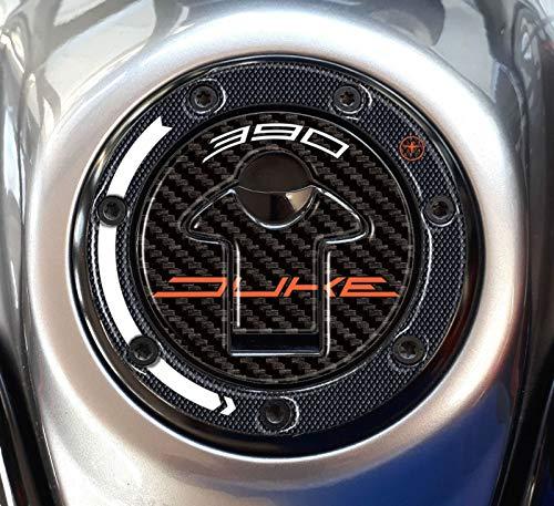 PROTEZIONE TAPPO SERBATOIO in gel 3D compatibile per MOTO KTM 390 DUKE 2017-2020