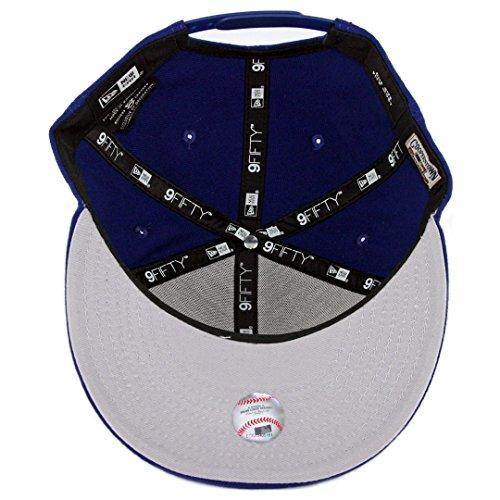 New Era 9Fifty Brooklyn Dodgers Basic Snapback Hat (Royal Blue) Men's MLB Cap