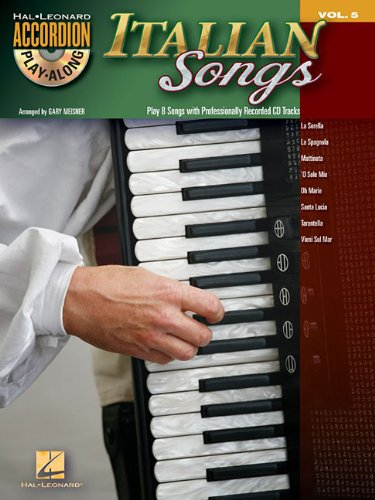Italian Songs [With CD (Audio)] (Accordion Play-along, Band 5)