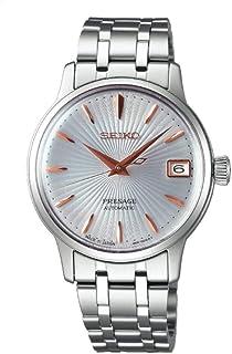 Seiko - Reloj Analógico para Mujer de Automático con Correa en Acero Inoxidable SRP855J1