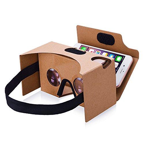 【2017 VERSION】TopElek Dernière Google Cardboard Kit V2 Grande...