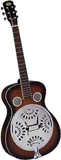 Regal RD-30T Studio Series Roundneck Resophonic Guitar - Sunburst Mahogany
