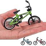 Longzhuo 3 Stücke Mini Legierung Fahrrad Modell Flick Finger Bikes Spielzeug Set BMX Neuheit Spielzeug Für Kinder Geschenke