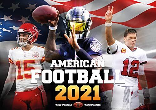 American Football 2021 NFL Calendar
