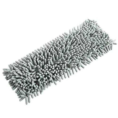 Roestvrij stalen handvat vlakke mop huishoudrotatie schoonmaakdoek mop veegmachine reinigingsgereedschap green replace cloth