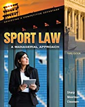 Best sport law a managerial approach 3rd edition Reviews