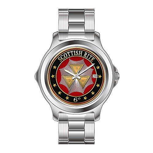 FDC–Navidad Regalo Relojes Mujer Fashion Fecha de Cuarzo japonés Reloj de Pulsera de Acero Inoxidable 6th Grado–íntimo Secretario Joya Relojes