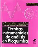 Técnicas instrumentales de análisis en bioquímica