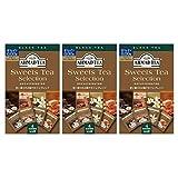 AHMAD TEA ( アーマッドティー ) デカフェ スウィーツティー セレクション ティーバッグ 20袋入り×3個 [ カフェインレス ヘーゼルナッツチョコレート バニラ キャラメル シナモン 各5袋 ]