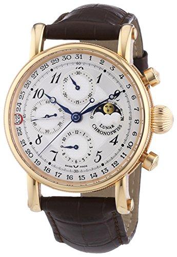 Chronoswiss Cronografo Meccanico Orologio da Polso 7541RL Brown