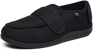 Pantofole Uomo con A Strappo,Hallux Valgus Fuß schwellende Schuhe, Plus Größe breite fette Schuhe mittleren Alters und ält...