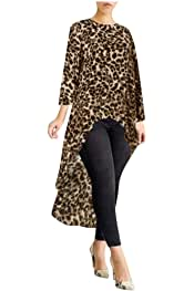 Amazon.es: Animal Print - Camisetas / Camisetas, tops y blusas: Ropa