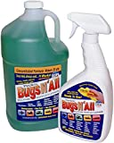 Bugs N All 1 Gal. Concentrate Makes 32 Qts. Pre-Wash Vehicle Cleaner - Bug Splatter and Black Streak Remover. Includes...