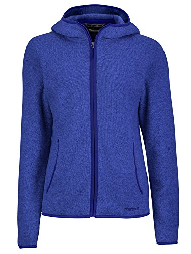 Marmot Women's Norhiem Sweater Knit Fleece Jacket, Gemstone, Medium