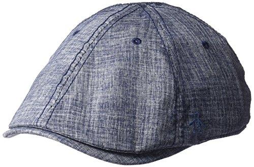 Original Penguin Herren Textured Driving Cap Kappe, Navy, Einheitsgröße
