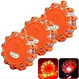Luz Emergencia Coche, Luces de Emergencia, Leds Rotativo,Camino LED Bengalas Carretera Emergencia de...