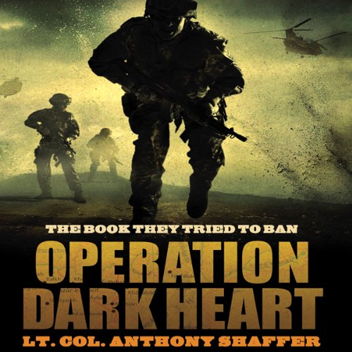 Operation Dark Heart audiobook cover art