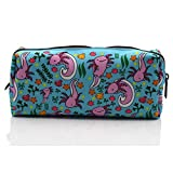 Axolotl Students Canvas Pencil Case Pen Bag Pouch stationery Case Makeup Cosmetic Bag