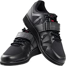 Nordic Lifting Powerlifting Shoes for Heavy Weightlifting - Men's Squat Shoe - MEGIN (Black, 11 US)