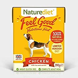100% Natural Based on holistic principles Hypoallergenic At least 60% real meat Full of Natural Goodness