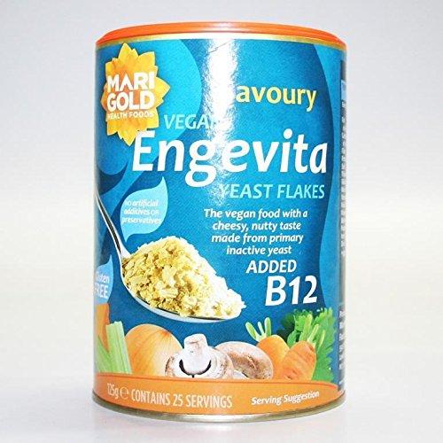 Engevita | Yeast Flakes with Vitamin B12 | 6 x 125g