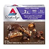 Atkins Endulge Treats, Pecan Caramel Clusters, 2g Sugar, Keto-Friendly, High Fibre - 10-Count