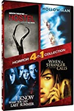 4-in-1 Horror Collection - Hostel/Hollow Man/I Know What You Did Last Summer/When A Stranger Calls by Mill Creek Entertainment by Paul Verhoeven, Jim Gillespie, Simon West Eli Roth